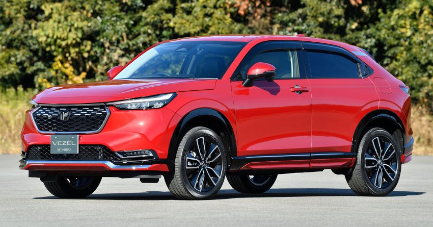 2022 Honda HR-V genuine accessories showcased – Urban Style and Casual Style packages available Image #1250737