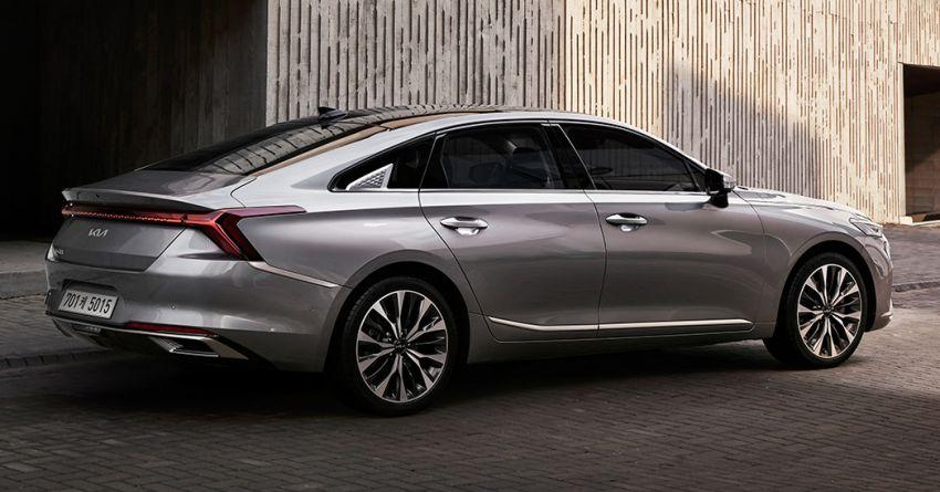 Kia K8 sedan previewed – replaces the K7/Cadenza Image #1249399