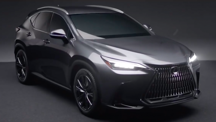 2022 Lexus NX leaked – all-new design, NX 200, NX 350 and NX 450h+ plug-in hybrid, no more Remote Touch! Image #1253819