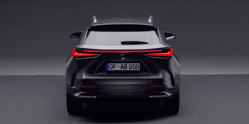 2022 Lexus NX leaked – all-new design, NX 200, NX 350 and NX 450h+ plug-in hybrid, no more Remote Touch! Image #1253829