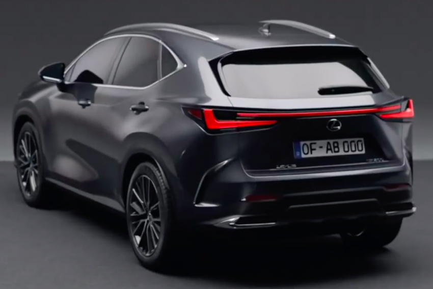 2022 Lexus NX leaked – all-new design, NX 200, NX 350 and NX 450h+ plug-in hybrid, no more Remote Touch! Image #1253820