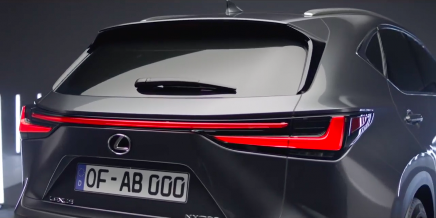 2022 Lexus NX leaked – all-new design, NX 200, NX 350 and NX 450h+ plug-in hybrid, no more Remote Touch! Image #1253821