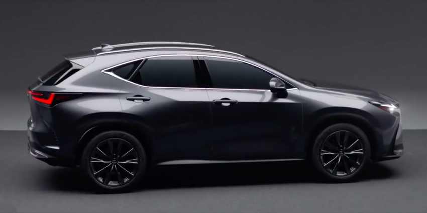 2022 Lexus NX leaked – all-new design, NX 200, NX 350 and NX 450h+ plug-in hybrid, no more Remote Touch! Image #1253822