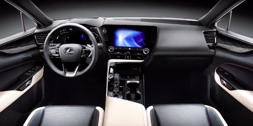 2022 Lexus NX leaked – all-new design, NX 200, NX 350 and NX 450h+ plug-in hybrid, no more Remote Touch! Image #1253824