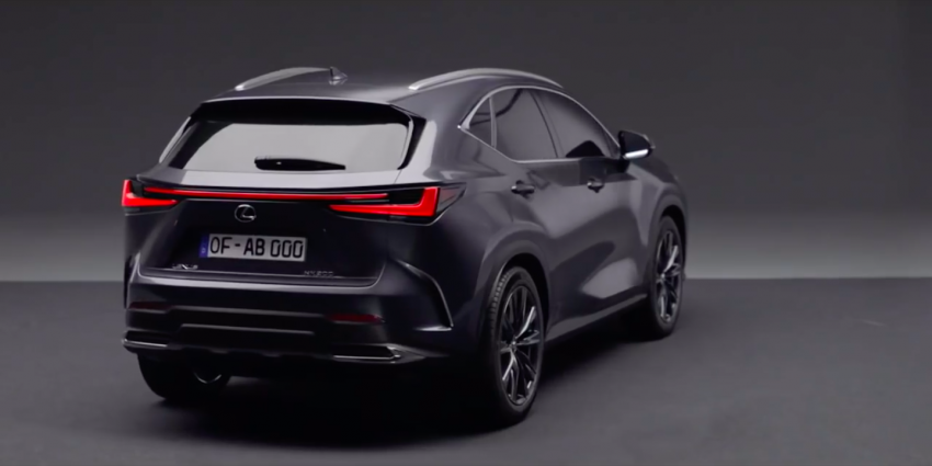 2022 Lexus NX leaked – all-new design, NX 200, NX 350 and NX 450h+ plug-in hybrid, no more Remote Touch! Image #1253828