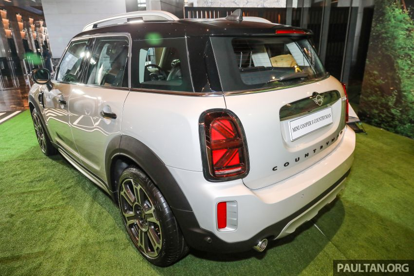 2021 MINI Countryman facelift launched in Malaysia – F60 Cooper S, Cooper SE; AEB std; RM237k-RM251k Image #1254665