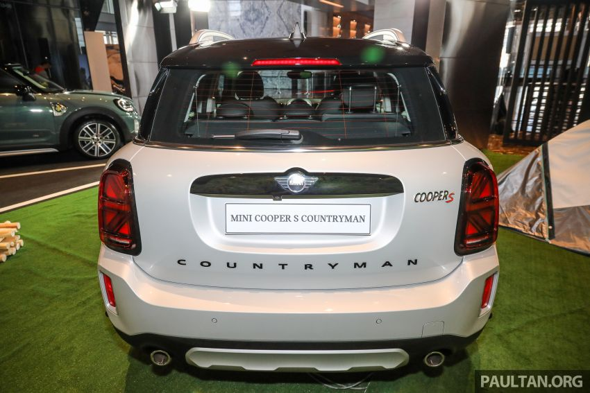 2021 MINI Countryman facelift launched in Malaysia – F60 Cooper S, Cooper SE; AEB std; RM237k-RM251k Image #1254675