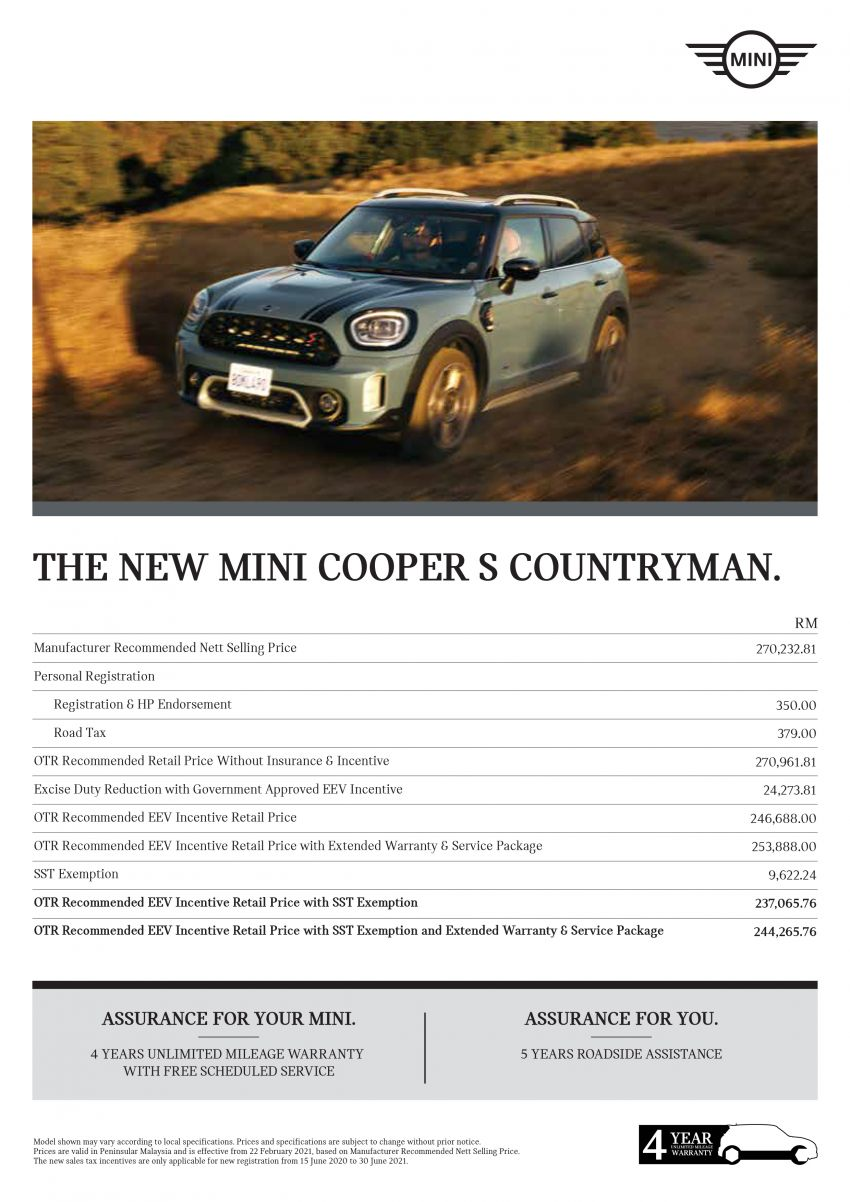 2021 MINI Countryman facelift launched in Malaysia – F60 Cooper S, Cooper SE; AEB std; RM237k-RM251k Image #1255292