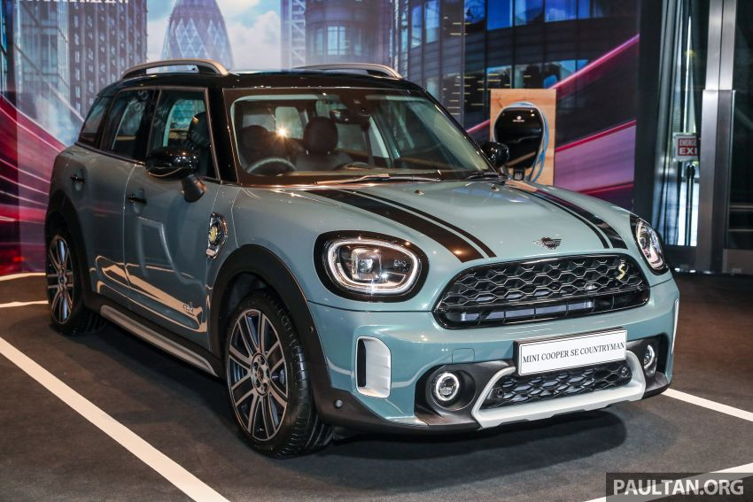 2021 MINI Countryman facelift launched in Malaysia – F60 Cooper S, Cooper SE; AEB std; RM237k-RM251k Image #1254903