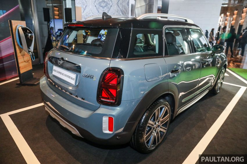 2021 MINI Countryman facelift launched in Malaysia – F60 Cooper S, Cooper SE; AEB std; RM237k-RM251k Image #1254904