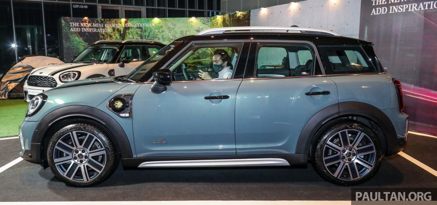 2021 MINI Countryman facelift launched in Malaysia – F60 Cooper S, Cooper SE; AEB std; RM237k-RM251k Image #1254910