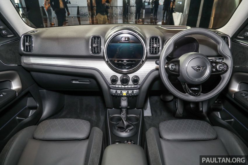 2021 MINI Countryman facelift launched in Malaysia – F60 Cooper S, Cooper SE; AEB std; RM237k-RM251k Image #1255203