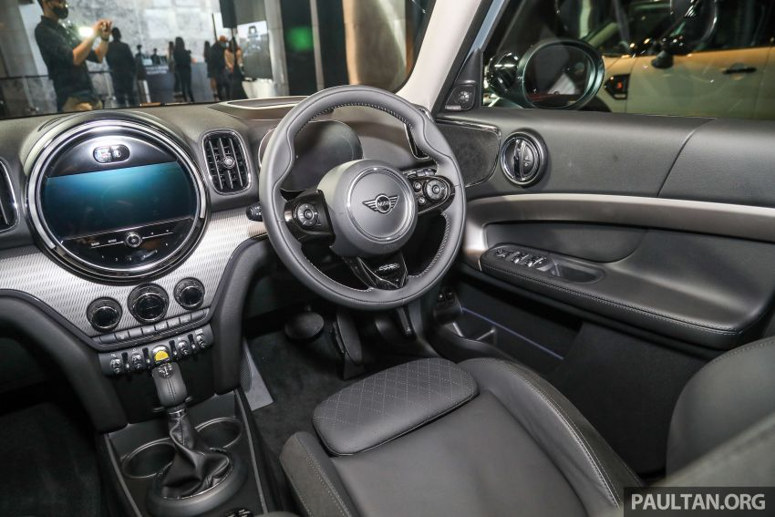 2021 MINI Countryman facelift launched in Malaysia – F60 Cooper S, Cooper SE; AEB std; RM237k-RM251k Image #1255243