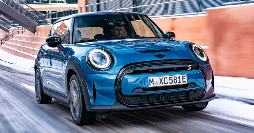 2021 MINI Cooper SE gains Electric Collection edition Image #1246500