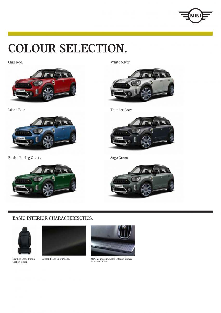 2021 MINI Countryman facelift launched in Malaysia – F60 Cooper S, Cooper SE; AEB std; RM237k-RM251k Image #1255311