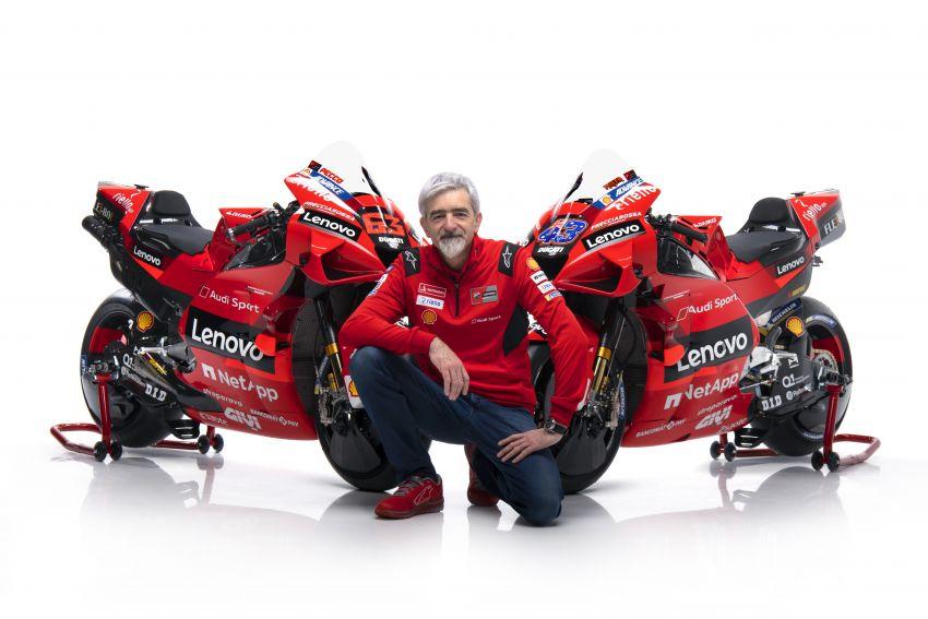 2021 MotoGP: Ducati Team with Lenovo as sponsor Image #1249214
