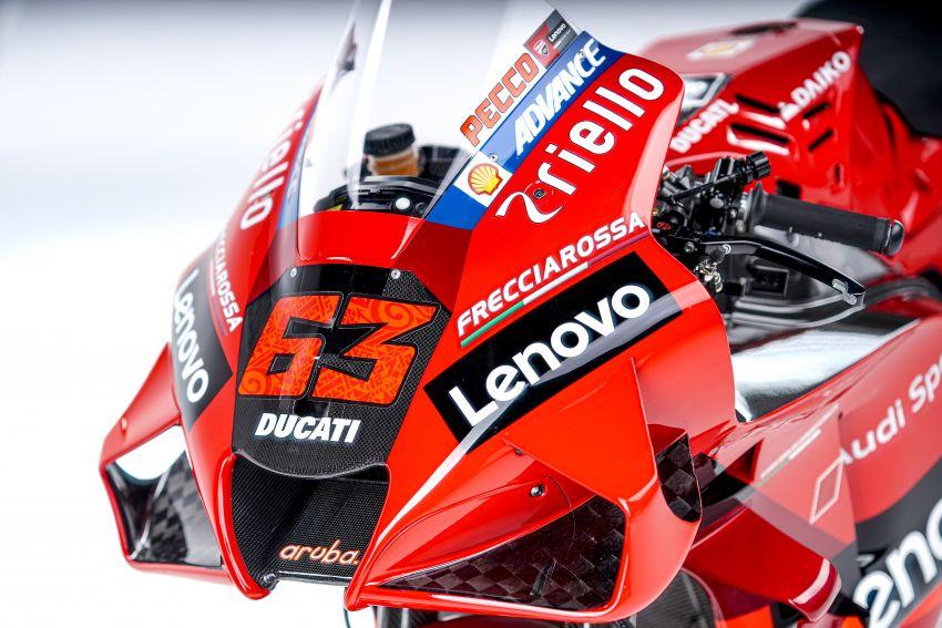 2021 MotoGP: Ducati Team with Lenovo as sponsor Image #1249217