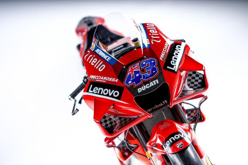 2021 MotoGP: Ducati Team with Lenovo as sponsor Image #1249218