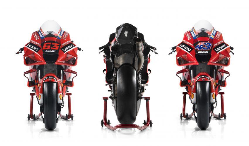 2021 MotoGP: Ducati Team with Lenovo as sponsor Image #1249192
