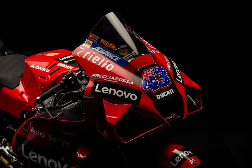 2021 MotoGP: Ducati Team with Lenovo as sponsor Image #1249232