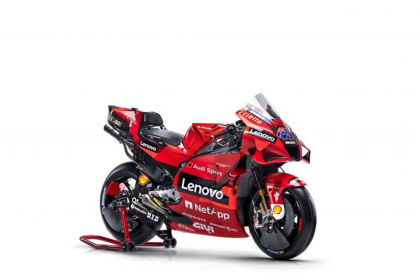 2021 MotoGP: Ducati Team with Lenovo as sponsor Image #1249206