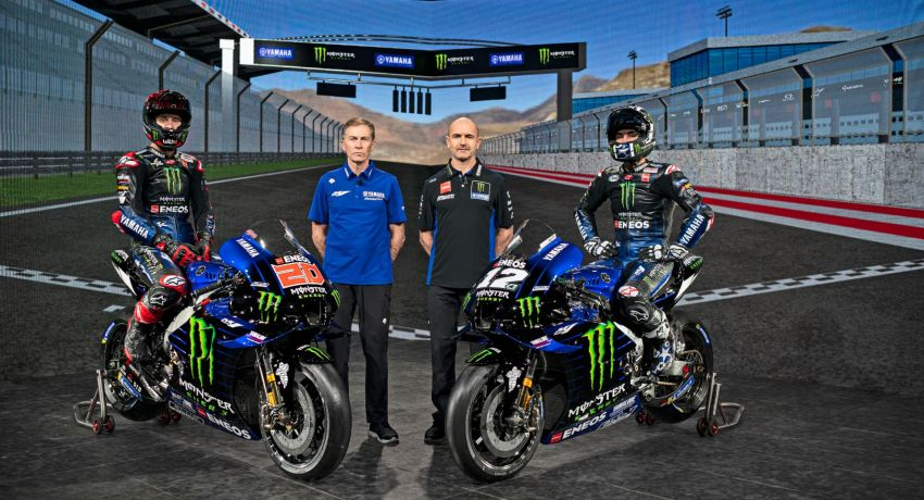 2021 MotoGP: Monster Energy Yamaha MotoGP show their colours – 60 years of Yamaha in Grand Prix Image #1248541