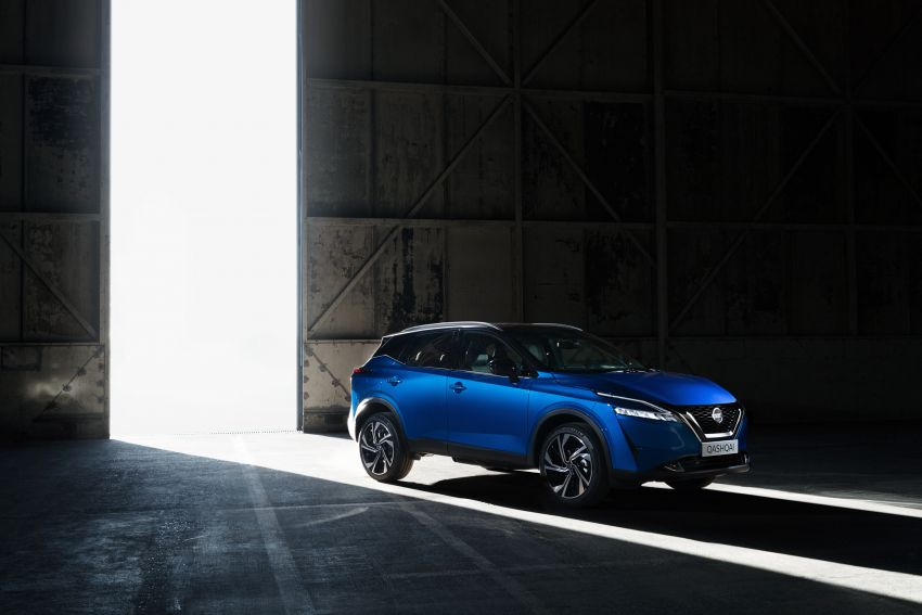 2021 Nissan Qashqai revealed – sharp new looks, tech from X-Trail, new 1.3L mild hybrid, e-Power available Image #1250755