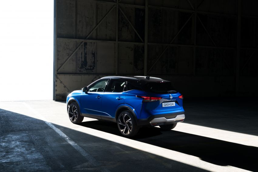 2021 Nissan Qashqai revealed – sharp new looks, tech from X-Trail, new 1.3L mild hybrid, e-Power available Image #1250756