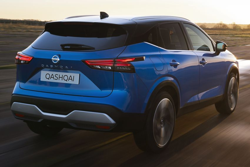 2021 Nissan Qashqai revealed – sharp new looks, tech from X-Trail, new 1.3L mild hybrid, e-Power available Image #1250774