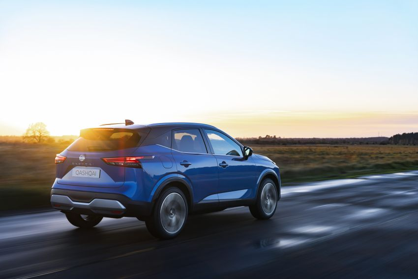 2021 Nissan Qashqai revealed – sharp new looks, tech from X-Trail, new 1.3L mild hybrid, e-Power available Image #1250776