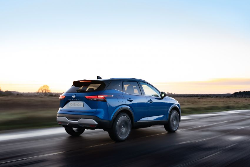 2021 Nissan Qashqai revealed – sharp new looks, tech from X-Trail, new 1.3L mild hybrid, e-Power available Image #1250777
