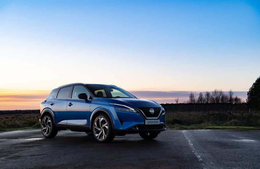 2021 Nissan Qashqai revealed – sharp new looks, tech from X-Trail, new 1.3L mild hybrid, e-Power available Image #1250778
