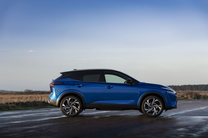 2021 Nissan Qashqai revealed – sharp new looks, tech from X-Trail, new 1.3L mild hybrid, e-Power available Image #1250780