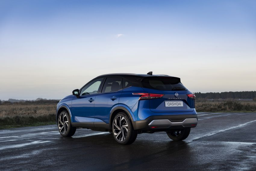 2021 Nissan Qashqai revealed – sharp new looks, tech from X-Trail, new 1.3L mild hybrid, e-Power available Image #1250783