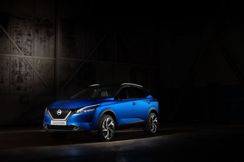2021 Nissan Qashqai revealed – sharp new looks, tech from X-Trail, new 1.3L mild hybrid, e-Power available Image #1250757