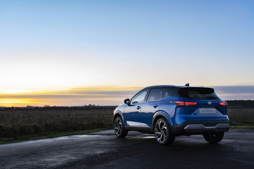 2021 Nissan Qashqai revealed – sharp new looks, tech from X-Trail, new 1.3L mild hybrid, e-Power available Image #1250784