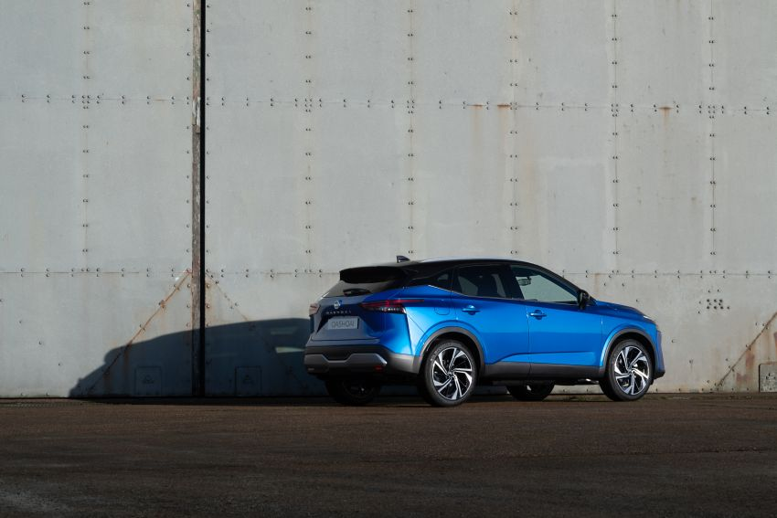 2021 Nissan Qashqai revealed – sharp new looks, tech from X-Trail, new 1.3L mild hybrid, e-Power available Image #1250785
