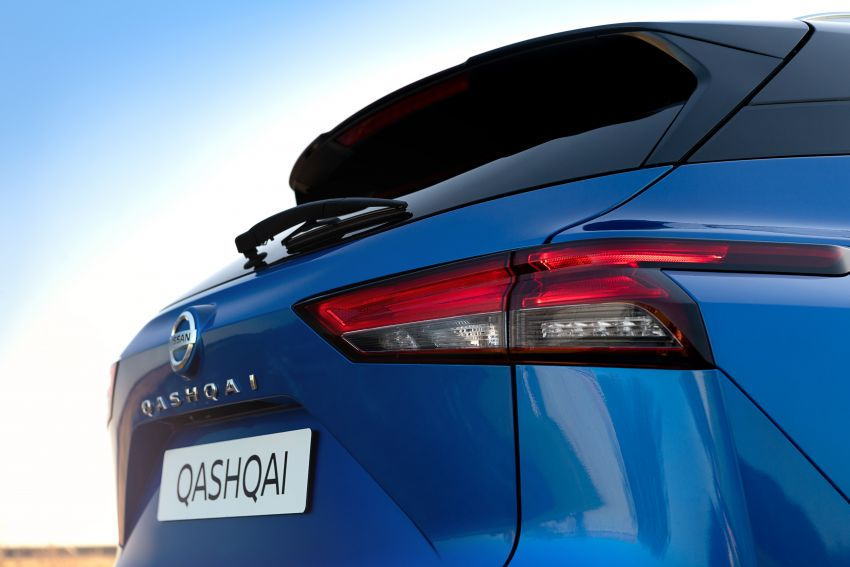 2021 Nissan Qashqai revealed – sharp new looks, tech from X-Trail, new 1.3L mild hybrid, e-Power available Image #1250788