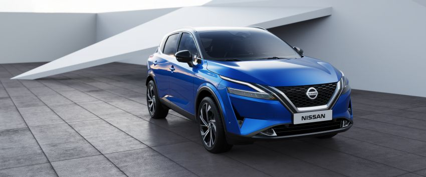 2021 Nissan Qashqai revealed – sharp new looks, tech from X-Trail, new 1.3L mild hybrid, e-Power available Image #1250789