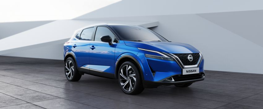 2021 Nissan Qashqai revealed – sharp new looks, tech from X-Trail, new 1.3L mild hybrid, e-Power available Image #1250790