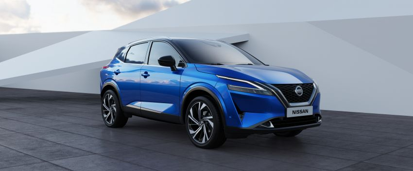 2021 Nissan Qashqai revealed – sharp new looks, tech from X-Trail, new 1.3L mild hybrid, e-Power available Image #1250792