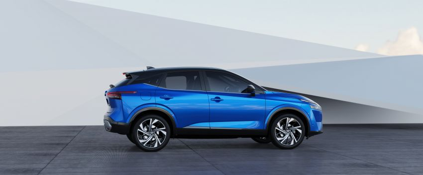 2021 Nissan Qashqai revealed – sharp new looks, tech from X-Trail, new 1.3L mild hybrid, e-Power available Image #1250793