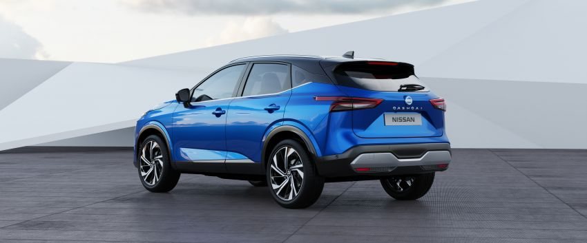 2021 Nissan Qashqai revealed – sharp new looks, tech from X-Trail, new 1.3L mild hybrid, e-Power available Image #1250794