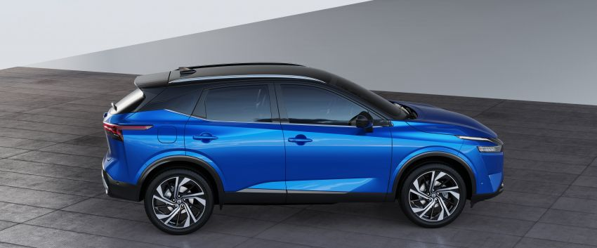 2021 Nissan Qashqai revealed – sharp new looks, tech from X-Trail, new 1.3L mild hybrid, e-Power available Image #1250795