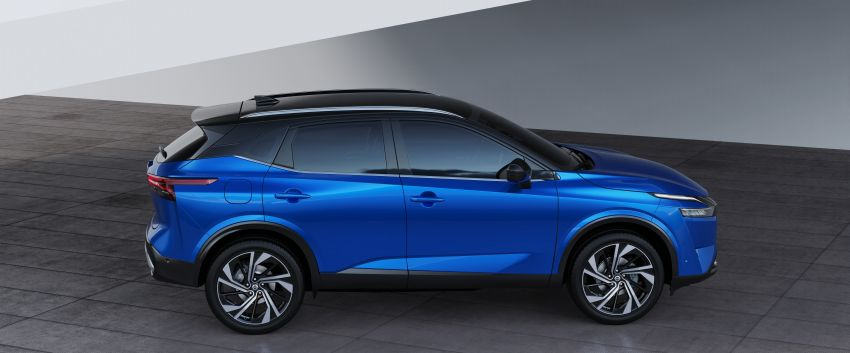 2021 Nissan Qashqai revealed – sharp new looks, tech from X-Trail, new 1.3L mild hybrid, e-Power available Image #1250796