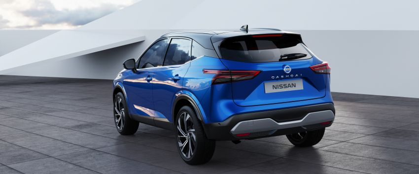 2021 Nissan Qashqai revealed – sharp new looks, tech from X-Trail, new 1.3L mild hybrid, e-Power available Image #1250797