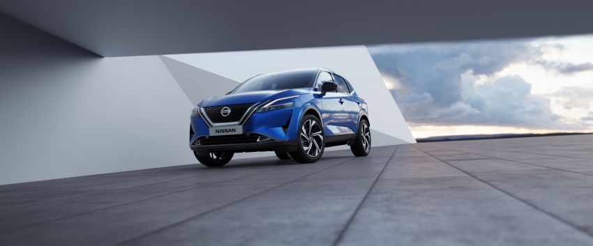 2021 Nissan Qashqai revealed – sharp new looks, tech from X-Trail, new 1.3L mild hybrid, e-Power available Image #1250798