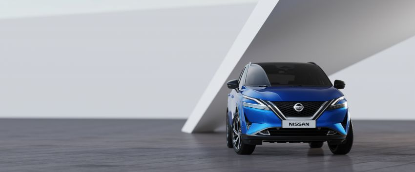 2021 Nissan Qashqai revealed – sharp new looks, tech from X-Trail, new 1.3L mild hybrid, e-Power available Image #1250801