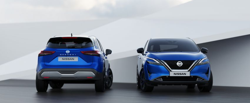 2021 Nissan Qashqai revealed – sharp new looks, tech from X-Trail, new 1.3L mild hybrid, e-Power available Image #1250802