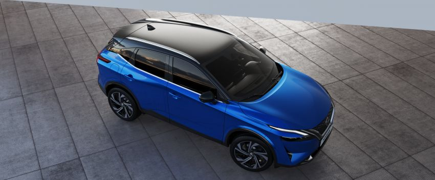 2021 Nissan Qashqai revealed – sharp new looks, tech from X-Trail, new 1.3L mild hybrid, e-Power available Image #1250803